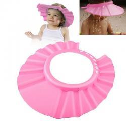 Adjustable Baby Kids Shampoo Bath Bathing Shower Cap Hat Wash Hair Shield EVA