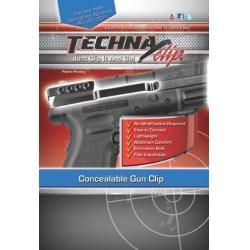 Techna Clip Concealable Gun Clip For Springfield XDM 9MM, .40S&W, .45 ACP