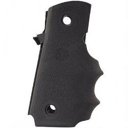 Hogue Rubber Grips with Finger Grooves for Para Ordnance P-13, Black, 11000