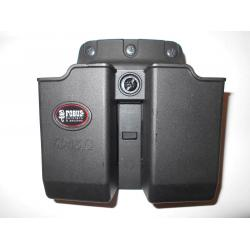 Fobus Double Magazine Pouch - .45 Double Stack fits Glock - 6945NDBH