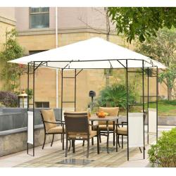 If you are looking 10'x 10' Outsunny Outdoor Patio Gazebo Cover Canopy Party Tent Pavilion Shade You can buy it now, it is for sale United States