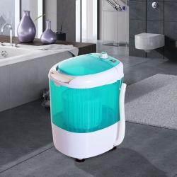Portable Mini Compact Washing Machine Electric Laundry Spin Washer Dryer 5.5lbs