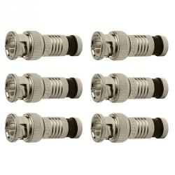 If you are looking Platinum Tools 18042 SealSmart BNC Compression Connectors for RG59 Cable, 6-Pack you can buy to hardware_sales, It is on sale at the best price