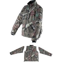 Makita DCJ201ZS 18V Cordless Polyester Mossy Oak Heated Jacket Only, Small