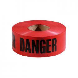Empire Level 77-1004 Red Bold Danger Plastic Barricade Tape, 3-inch x 1,000-Feet