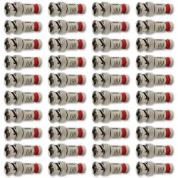 If you are looking Platinum Tools 280038J SealSmart BNC Compression Connectors for RG6, 40-Pack you can buy to hardware_sales, It is on sale at the best price