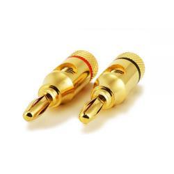 Si buscas Monoprice 2943 1 PAIR Gold Plated Speaker Banana Plugs, Open Screw Type puedes comprarlo con PHOTOSTORE está en venta al mejor precio