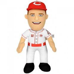 "Jay Bruce MLB Cincinnati Reds 10"" Player Plush Doll Bleacher Creatures White"