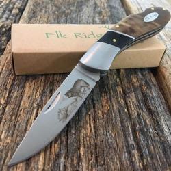 """Si buscas 6.75"""" ELK RIDGE Hunting Tactical Gentleman's Pocket Folding LOCKBACK Knife WOLF puedes comprarlo con MUNDODVIDEOJUEGO2 está en venta al mejor precio"""