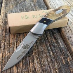 """Si buscas 6.75"""" ELK RIDGE Hunting Tactical Gentleman's Pocket Folding LOCKBACK Knife DEER puedes comprarlo con MUNDODVIDEOJUEGO2 está en venta al mejor precio"""