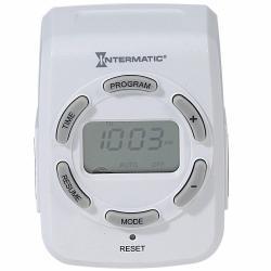 Temporizador Digital De 7 Días Para Interiores Intermnatic