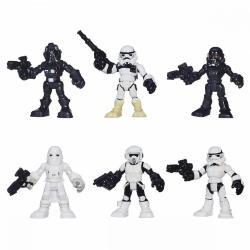 Muñecos Coleccion Star Wars Hasbro Set De 6