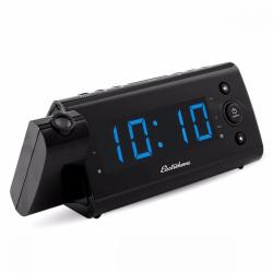 Reloj Despertador Electrohome Eaac475 Negro