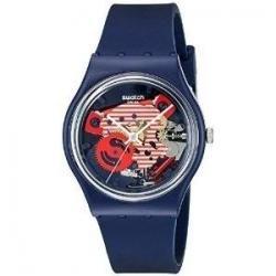 Reloj Swatch Gn239 Porticciolo Azul Silicona