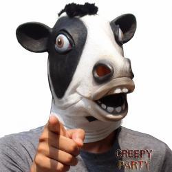 Si buscas Mascara Hallowen Latex Vaca Feliz Fiesta Halloween puedes comprarlo con Deportronics está en venta al mejor precio