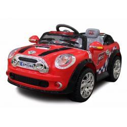 Carro Eléctrico Para Niños Mini Cooper 12v Radio Control