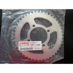 Si buscas Corona De Transmision Yamaha Ybr 125 Z45 Original Urquiza Mo puedes comprarlo con FASMOTOS00 está en venta al mejor precio