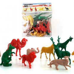 Animales De Plástico 13 Del Reino Animal - Ovikey