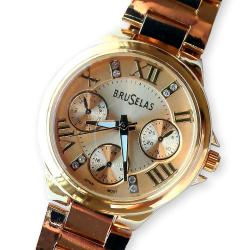 Reloj Bruselas Original Quartz Color Dama Caballero Alclick