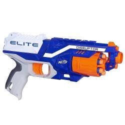Pistola Nerf Accu Firestrike Elite Láser + 6 Dardos Alclick