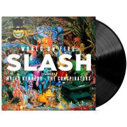 Slash World On Fire Lp Disco Vinilo Sellado Nuevo Alclick
