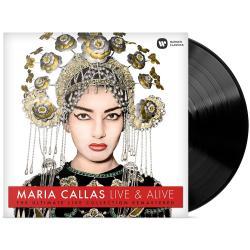 Maria Callas Live & Alive Disco Vinilo Sellado Nuevo Alclick