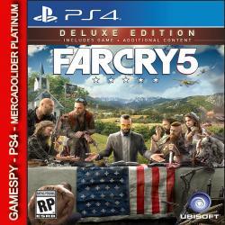 Far Cry 5 Deluxe Ps4 Digital Gamespy Mdolider Platinum 1º