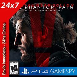 Metal Gear Solid V: The Phantom Pain Ps4 Gamespy