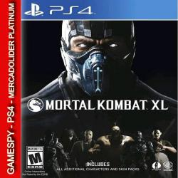 Mortal Kombat Xl Ps4 Digital Gamespy Mdolider Platinum 1º