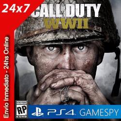 Call Of Duty Ww Ii Ps4 Usa Standard Edition Gamespy