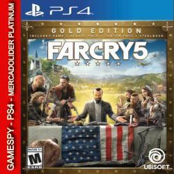 Far Cry 5 Gold Ps4 Digital Gamespy Mdolider Platinum 1º