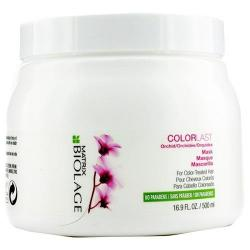 Mascarilla Biolage Colorlast Para Tratado De Color 500 Ml
