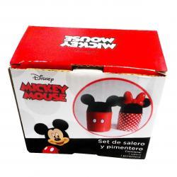 Si buscas Juego De Salero Y Pimentero Mickey Mouse Disney puedes comprarlo con QUIBAM_YBH está en venta al mejor precio