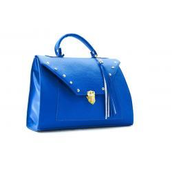 Bolsa Maletín Portafolio Dama 3225 Azul Envío Gratis Bolsos