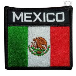 Parche Bordado Bandera De México Escudos,insignias