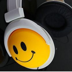 Happy Headphones - Smiling Face Over-ear Headphones - Make T