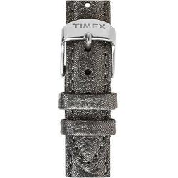 Timex Womens 16mm Taupe Metallic Leather Replacement Strap W