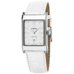 Eterna 1935 Eterna-matic Womens White Leather Strap Swiss Au