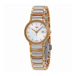 Si buscas Rado Womens Centrix - R30555103 Two-tone Silver/rose Gold On puedes comprarlo con CFMX está en venta al mejor precio