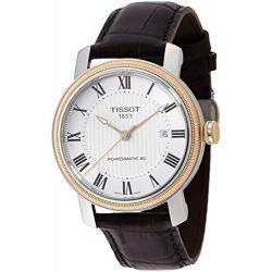 Si buscas Tissot Bridgeport Powermatic 80 Brown Leather Mens Watch T09 puedes comprarlo con CFMX está en venta al mejor precio