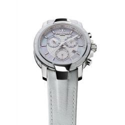 Si buscas Technomarine Womens 609009 Uf6 Chronograph White Leather Wat puedes comprarlo con CFMX está en venta al mejor precio