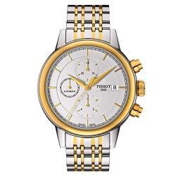 Si buscas Tissot Carson White Dial Two-tone Automatic Mens Watch T0854 puedes comprarlo con CFMX está en venta al mejor precio