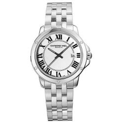Raymond Weil Tango White Dial Stainless Steel Mens Watch 559