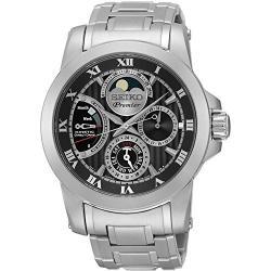 Si buscas Watch Seiko Premier Srx013p1 Men´s Black puedes comprarlo con CFMX está en venta al mejor precio