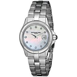 Raymond Weil Womens 9460-st-97081 Parsifal Diamond-accented