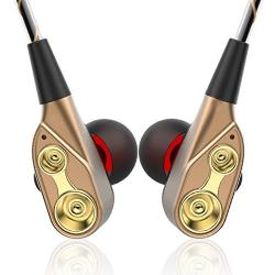 In-ear Phones With Microphone And Dual Dynamic Drivers Hi-fi
