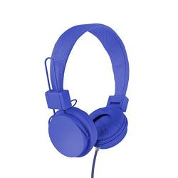 Vivitar Viv-1052-blu Foldable Dj Mixer Headphones, Blue