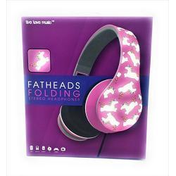 Unicorn Headphones Lavender Rainbow Unicorns Fatheads Foldin