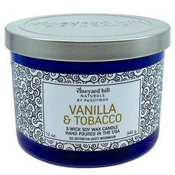 Si buscas Vineyard Hill Naturals By Paddywax Vanilla And Tobacco Scent puedes comprarlo con IN EXCELSIS NET está en venta al mejor precio