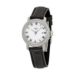 Si buscas Tissot Bridgeport Automatic Silver Dial Black Leather Ladies puedes comprarlo con CFMX está en venta al mejor precio